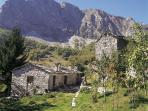 Stone built shepard dwellings at Campocatino