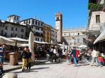 Piazza Erbe Nearby