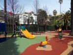 le jardin d'enfants à proximité