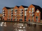 Trinity Wharf standing proud on the banks of the River Hull.
