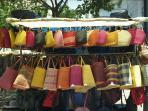 Handmade bags - African style on sale in Greenmarket Square