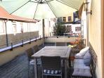 terrace for breakfast, dinner or lunch