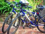 Two mountain bikes available on request with which to explore the coastal heathlands