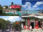 Activities than can de done by bus : Cap Malheureux, Grand Baie, Port Louis Parliament