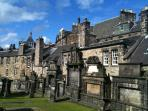 Greyfriars Kirk in the Old Town is well worth a visit including the extensive graveyard