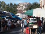 market day in Cordes