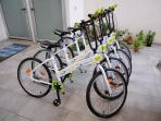 Noleggio bici a disposizione della struttura