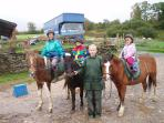 Horse riding locally, great for all abilities