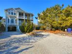 Tastefully decorated 5 bedroom, 4 1/2 bath home located just one house back from the ocean! Amazing views!