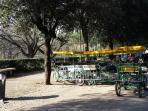 noleggio bici per PIAZZA DI SPAGNA e PIAZZA DEL POPOLO