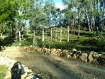 Surrounded by native bushland
