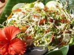 island healthy salad