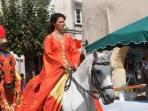 Medieval Fete in Duras during the summer
