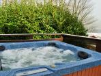 Hot Tub Spa on balcony with stunning views