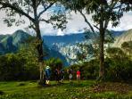Llactapata ancient Inca city,  Machu Picchu´s Satellite...