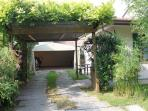 Garage of VENICE HOLIDAY APARTMENT RENTAL