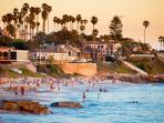 Windansea Beach - enjoy the sunset or a stroll along the sand.