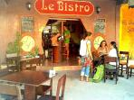 Le Bistro, French restaurant - Within walking distance