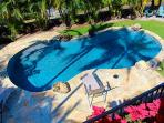Beautiful Upper Lanai Shot of Pool!