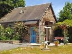 La Cachette is a stone built cottage with one large bedroom. It is set in its own large garden.