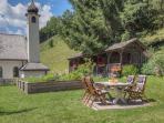 Grillplatz mit Kräutergarten