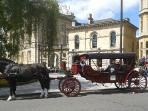 We can organise a private tour in this romantic carriage