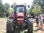 children and our tractor