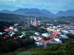 Clifden at dusk