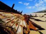 Maheno Deck Fraser Island
