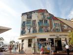 Cannes Bus Station (Gare Routiere) just below Le Suquet and near the Laubeuf ferry terminal