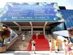 Cannes' Festival Hall - Palais des Festivals et des Congrés - out of season.