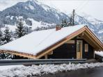 Chalet from the road