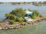 Private Tropical Island Home w/Motorboat, Kayaks