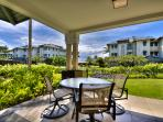 Great views from the Lanai.  Your own personal Viking Grill and Kitchenette on the Lanai.