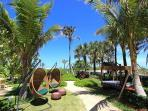 Garden with Private Beach Access