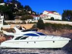 We can offer a 4 hours cruise along the Slovenian coast with skipper, for 700€ + fuel (aprox. 100€).