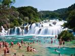 National Park Krka (an hour by car)