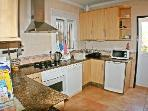 kitchen, electric oven, gas hob, dishwasher, microwave, fly screen door