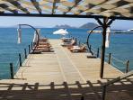 Tourists may use also hotel facilities at sea front promenade