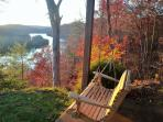 Downstairs Swing in Autumn