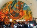 Marimba Concert at Ex-Hacienda de Cortes w/Siquieros Mural/Concierto de Marimba en el Ex-Hacienda