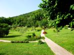 The garden of #leloggedisilvignano #spoletoaccomodationrental