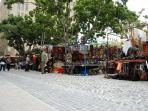 The 300 year old Greenmarket Square. A 5 min walk from the apartment