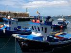 Los Abrigos harbour