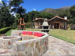 Fire pit area to enjoy breathtaking sunsets, views of the Izalco Volcano & the Pacific coastline.