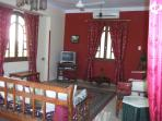 The first floor apartment is now also available for rent. first floor living area