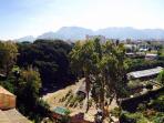 Vista dietro casa: Parco d'Orleans, giardini sperimentali dell'università.