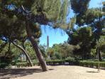 Piazza indipendenza, giardino, sotto casa