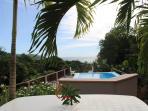 View from 2 bedroom villa