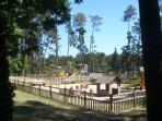 Children's play area at Lake Jamaye..